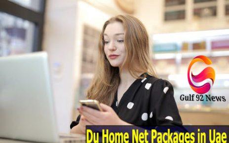 Du Home Net Packages in Uae