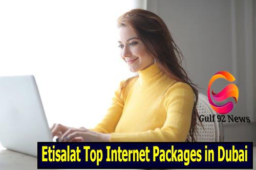 Etisalat Top Internet Packages in Dubai