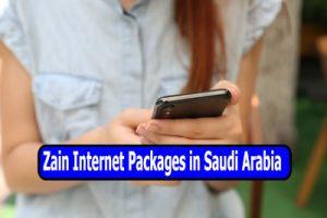 Zain Internet Packages in Saudi Arabia